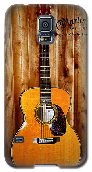 Martin Guitar - The Eric Clapton Limited Edition Galaxy S5 Case by Bill Cannon