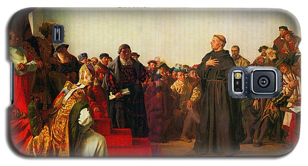 Martin Luther Before The Diet Of Worms Galaxy S5 Case