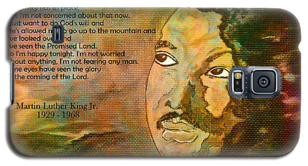Martin Luther King Jr - I Have Been To The Mountaintop  Galaxy S5 Case