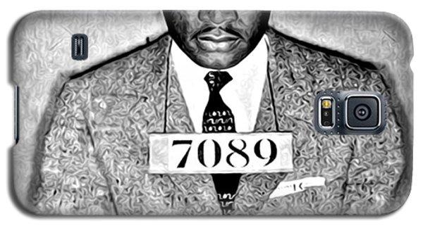 Martin Luther King Mugshot Galaxy S5 Case