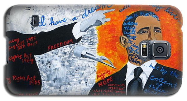 Martin Luther King's Dream Is Coming True Galaxy S5 Case