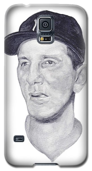 Galaxy S5 Case featuring the painting Martin by Tamir Barkan