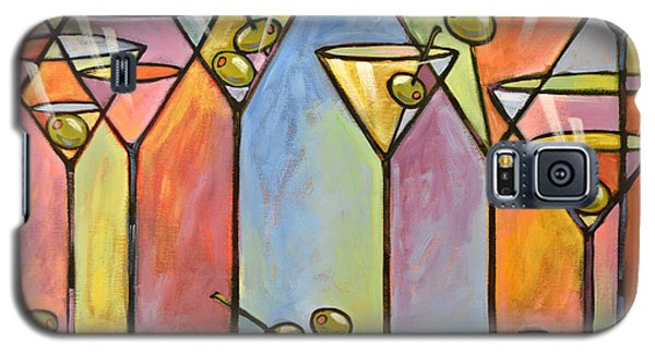 Martini Bar ... Abstract Alcohol Art Galaxy S5 Case