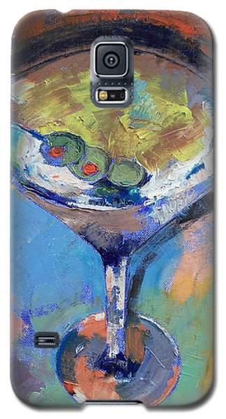 Martini Oil Painting Galaxy S5 Case