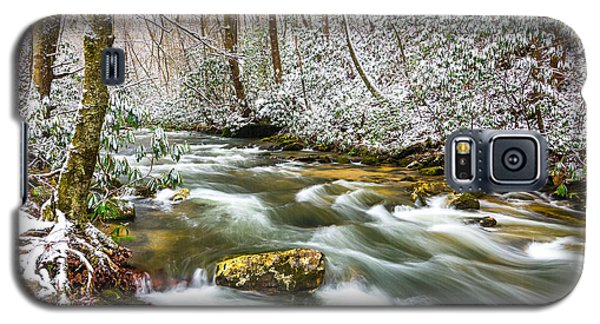 Martins Fork Winter Galaxy S5 Case