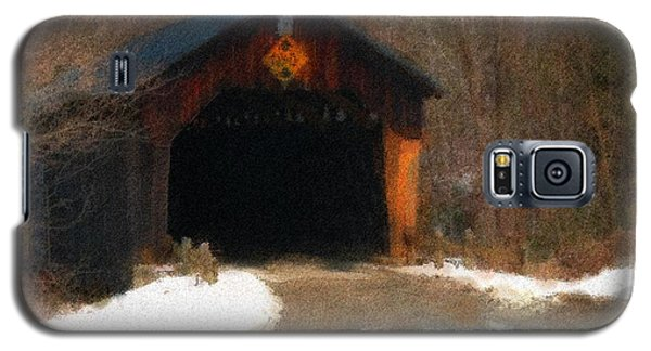 Martinsville Covered Bridge Galaxy S5 Case by Mike Martin