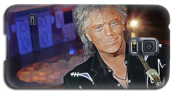 Galaxy S5 Case featuring the photograph Marty Stuart At The Ryman by Don Olea