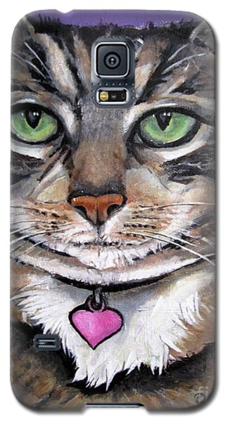 Marvelous Minnie The Gallery Cat Galaxy S5 Case