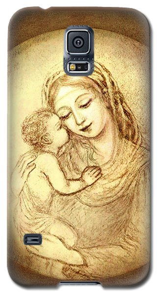 Mary And Jesus Galaxy S5 Case
