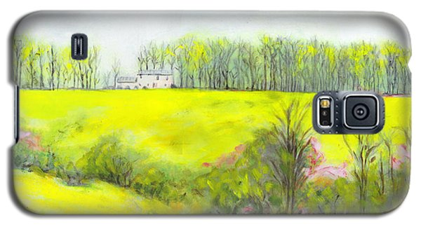 Maryland Landscape Springtime Rt40 East Original Painting Galaxy S5 Case