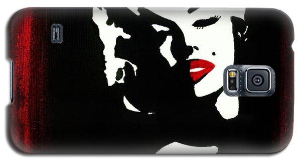 Marylin Pop Art Portrait Galaxy S5 Case