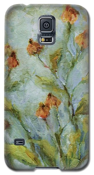 Galaxy S5 Case featuring the painting Mary's Garden by Mary Wolf
