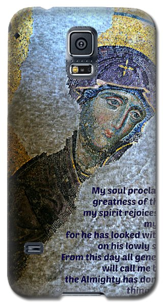 Mary's Magnificat Galaxy S5 Case