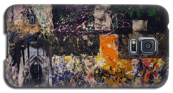 Galaxy S5 Case featuring the painting Masa Saga by Ron Richard Baviello