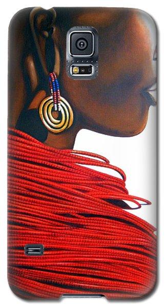Masai Bride - Original Artwork Galaxy S5 Case