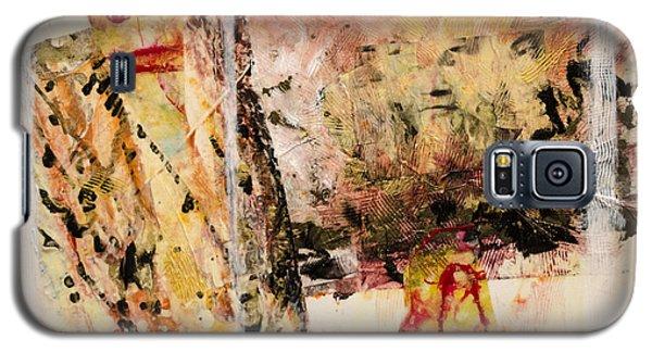 Galaxy S5 Case featuring the painting Masanori by Ron Richard Baviello