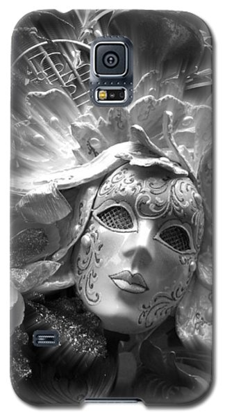 Galaxy S5 Case featuring the photograph Masked Angel by Amanda Eberly-Kudamik