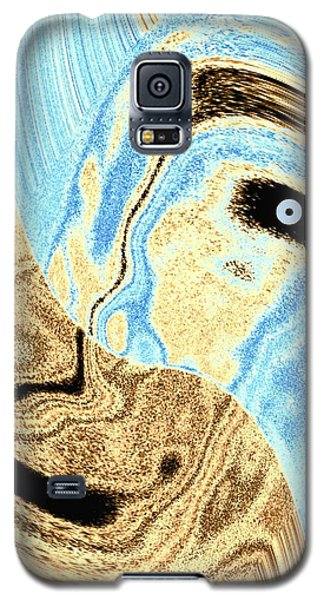 Masked- Man Abstract Galaxy S5 Case