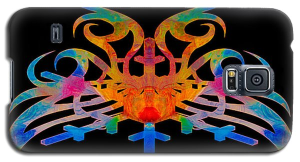 Masking Reality Abstract Shapes Artwork Galaxy S5 Case
