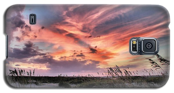 Galaxy S5 Case featuring the photograph Masonboro Inlet September Sunset by Phil Mancuso