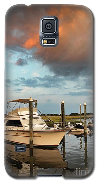 Galaxy S5 Case featuring the photograph Masonboro Sunset #2 by Phil Mancuso