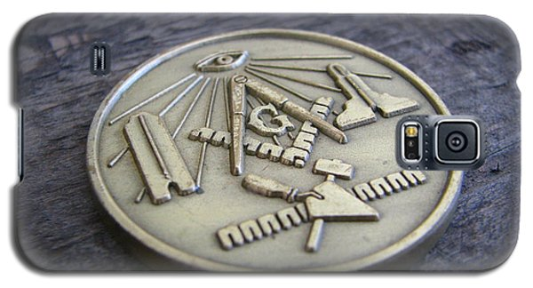 Masonic Medal Galaxy S5 Case