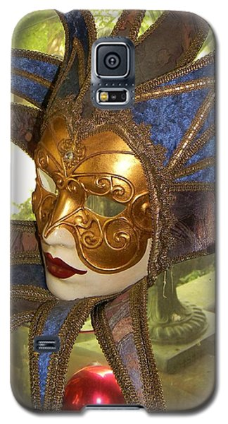 Galaxy S5 Case featuring the photograph Masquerade by Jean Goodwin Brooks