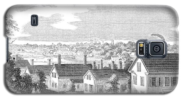 Galaxy S5 Case featuring the painting Massachusetts Salem, 1854 by Granger