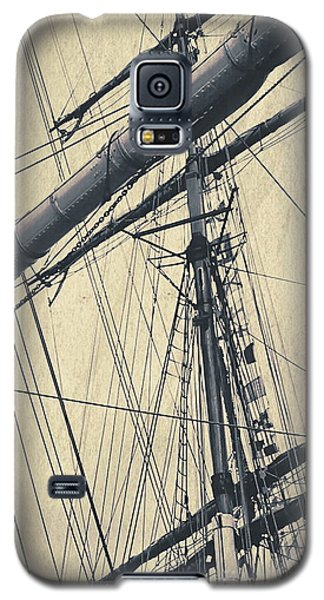 Mast And Rigging Postcard Galaxy S5 Case
