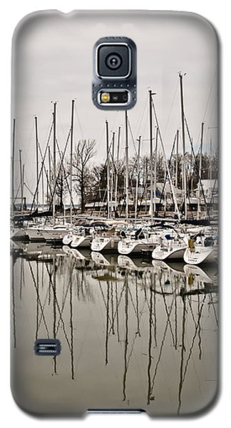 Mast Reflections Galaxy S5 Case by Greg Jackson