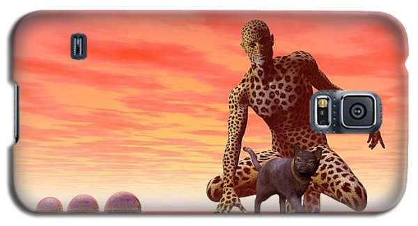 Master And Servant - Surrealism Galaxy S5 Case by Sipo Liimatainen