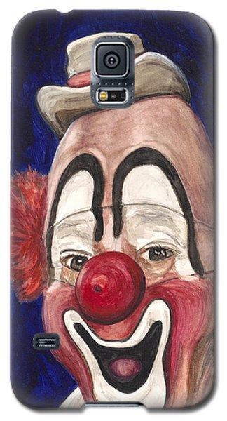Watercolor Clown #3 Lou Jacobs Galaxy S5 Case