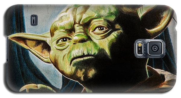 Star Wars Galaxy S5 Case - Master Yoda by Brian Broadway