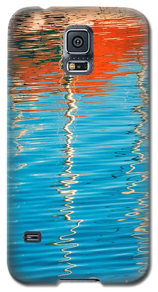 Masts Showing Off Galaxy S5 Case by Joan Herwig