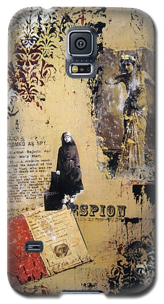 Galaxy S5 Case featuring the painting Mata Hari by Debra Crank