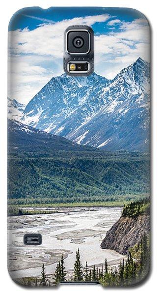 Matanuska River  Galaxy S5 Case by Andrew Matwijec