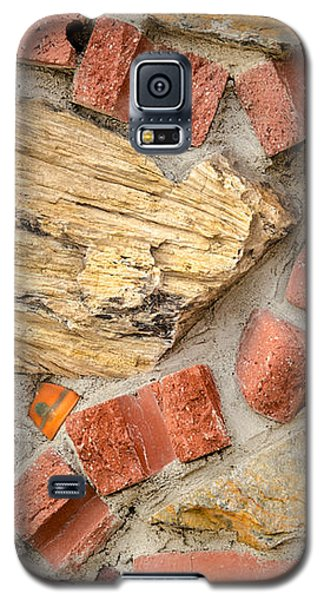 Galaxy S5 Case featuring the photograph Materials Abstract by Sue Smith