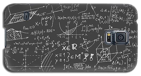 Maths Blackboard Galaxy S5 Case by Gina Dsgn