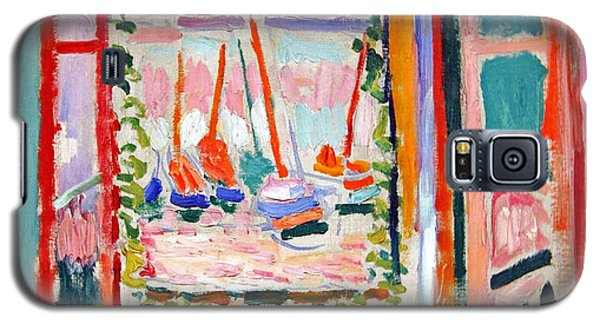 Matisse's Open Window At Collioure Galaxy S5 Case