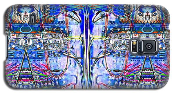 Matrix Blues Galaxy S5 Case by Marianne Dow