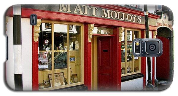 Matt Malloys Pub Westport Ireland Galaxy S5 Case by Melinda Saminski