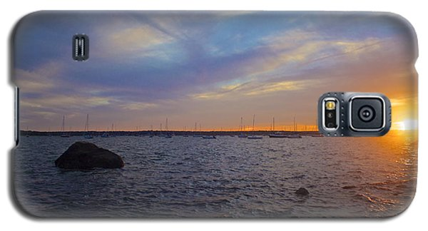 Galaxy S5 Case featuring the photograph Mattapoisett Sunset by Amazing Jules