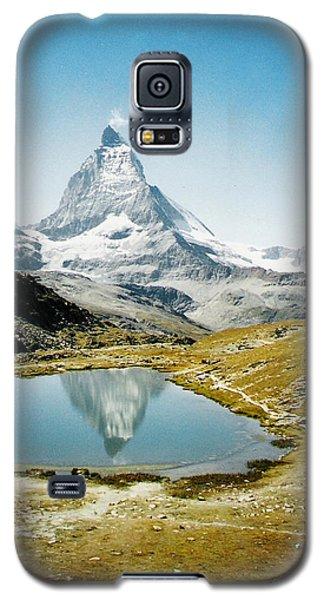 Matterhorn Cervin Reflection Galaxy S5 Case