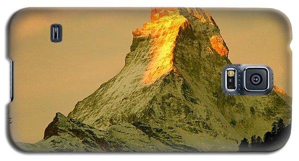 Matterhorn In Switzerland Galaxy S5 Case