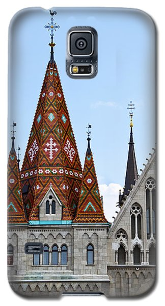 Matyas Church With Glazed Tiles In Budapest Hungary Galaxy S5 Case