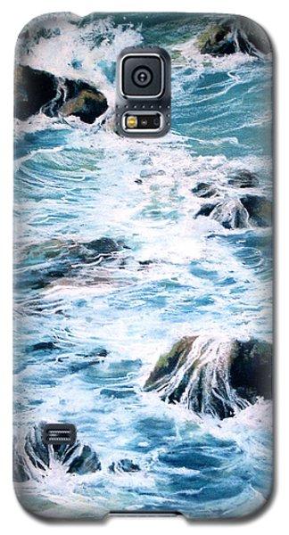 Maui Shoreline 3 Galaxy S5 Case by Rae Andrews