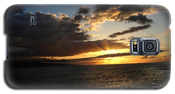 Maui Sunset Galaxy S5 Case