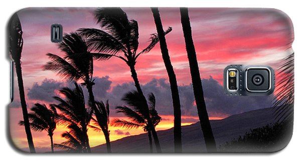 Maui Sunset Galaxy S5 Case by Peggy Hughes