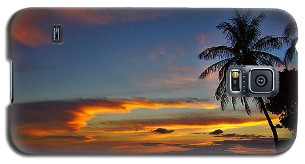 Maui Sunset Galaxy S5 Case
