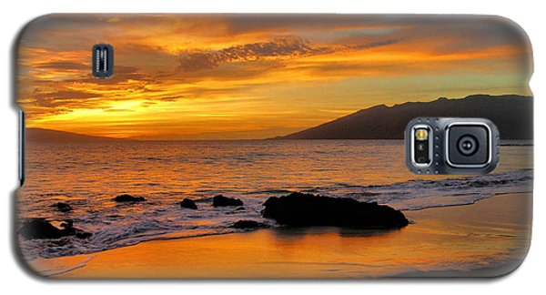 Maui Sunset Galaxy S5 Case by Stephen  Vecchiotti